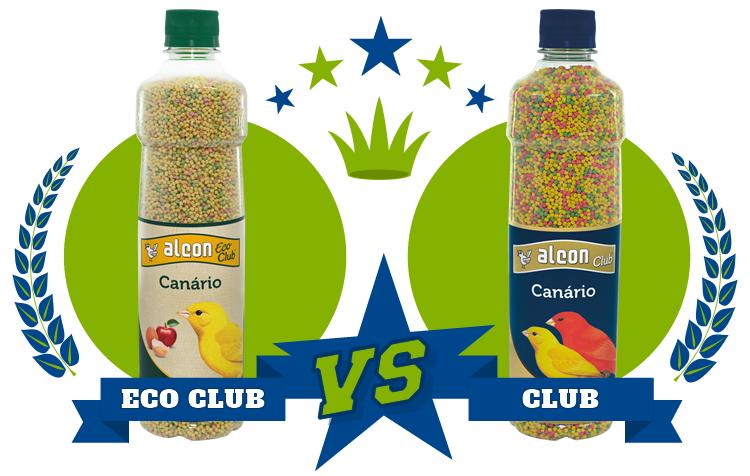 diferença entre as rações eco club e club